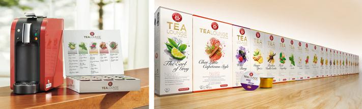 teekanne tealounge system perfekter tee auf knopfdruck. Black Bedroom Furniture Sets. Home Design Ideas