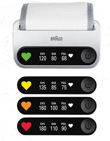 Blutdruckmessgerät iCheck® 7 von Braun