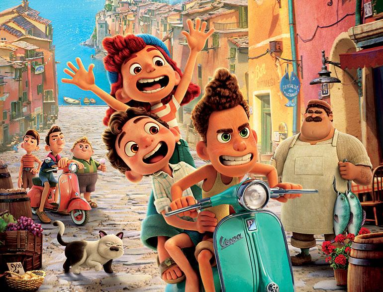 """brandneue Disney/Pixar-Highlight """"Luca"""""""