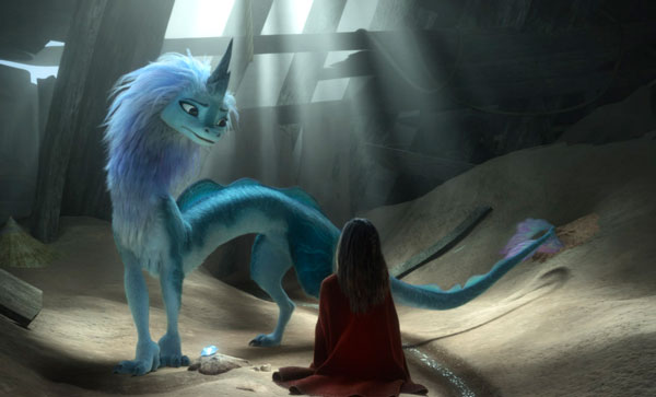 """Animationsfilm """"Raya und der letzte Drache"""""""