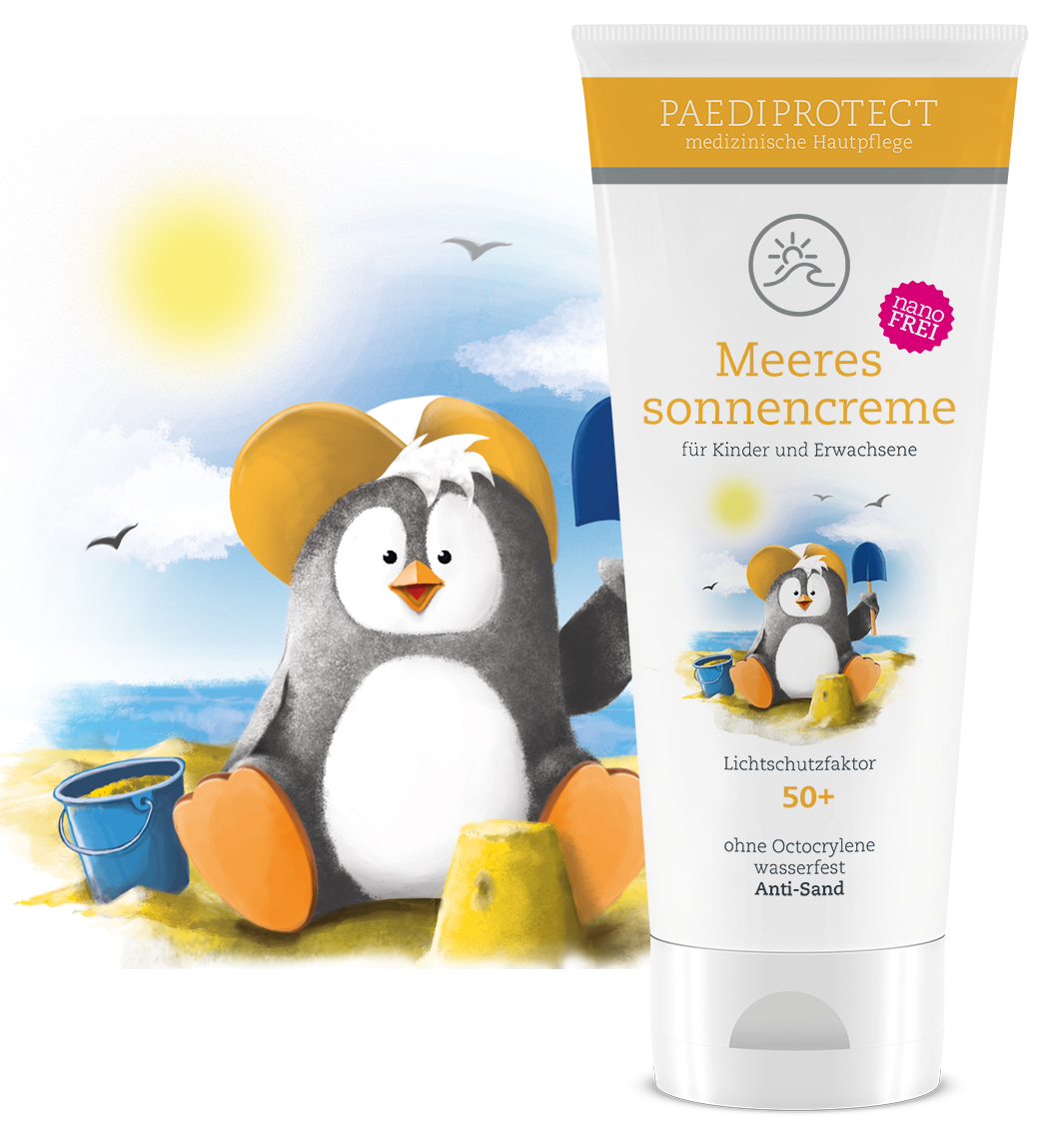 PAEDIPROTECT Meeressonnencreme