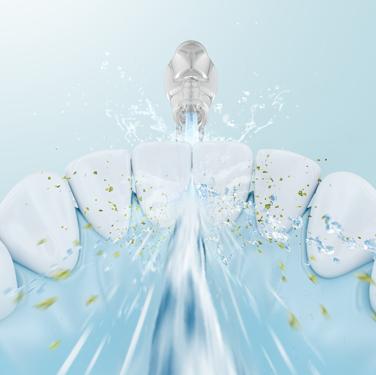 Reinigung der Zahnzwischenräume