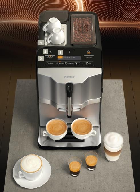Produkttest Der Neue Siemens Kaffeevollautomat Eq 3 Fur Alle Die