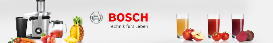 Produkttest VitaJuice Entsafter von Bosch ~ Entsafter Bosch